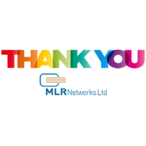 Thank you from MLR Networks